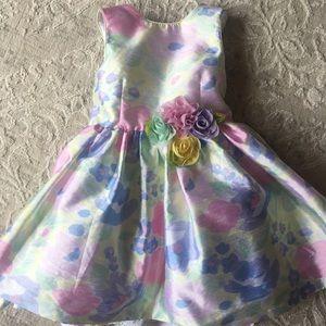 Puppy & Julie pastel floral dress